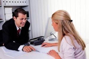Business Menschen im Gespräch