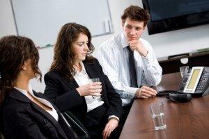 Business Meeting per Telefon Konferenz